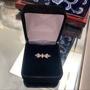 Swarovski Crystal Bow Ring